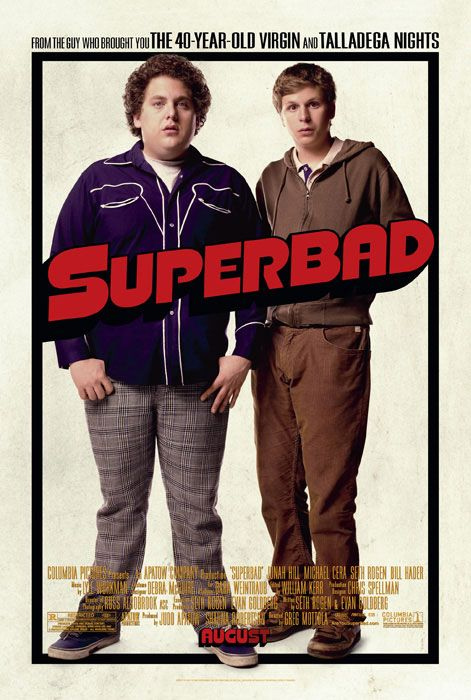 superbad cast names. #7 Superbad (2007)